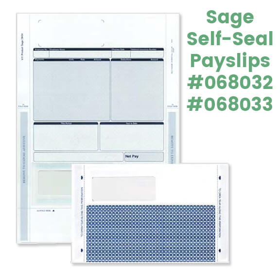 View / buy Sage Payroll Stationery